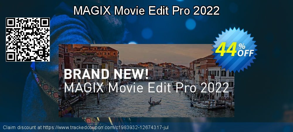 MAGIX Movie Edit Pro coupon on Black Friday discount