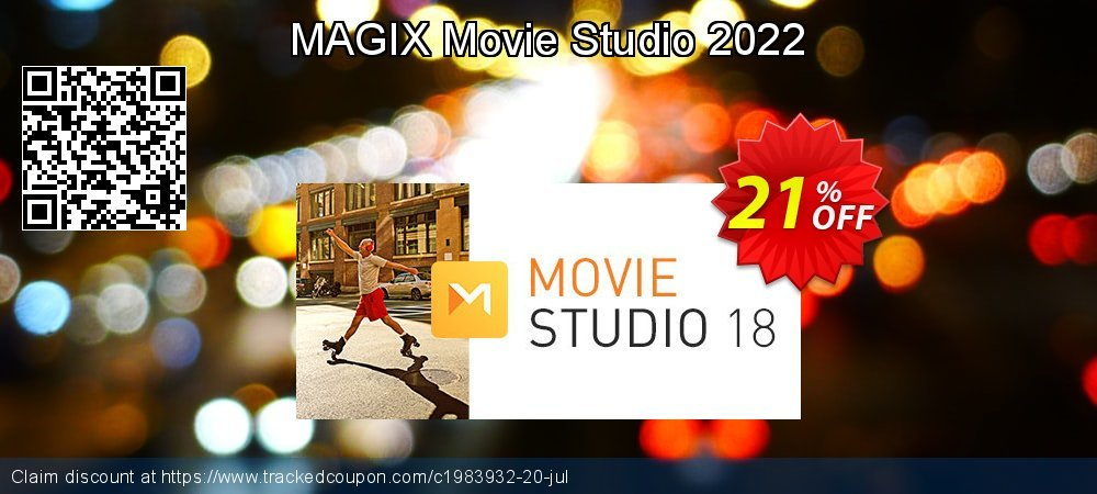 VEGAS Movie Studio 17 coupon on Mom Day offering discount