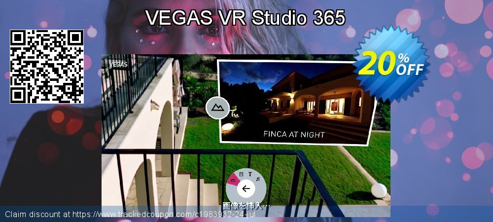 VEGAS VR Studio 365 coupon on Mom Day promotions