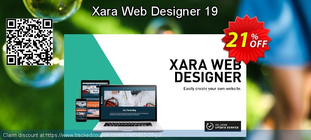 Xara Web Designer coupon on New Year's Day offering sales