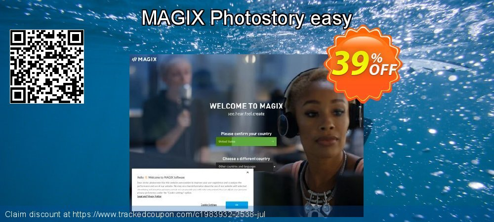 MAGIX Photostory easy coupon on Happy New Year discounts