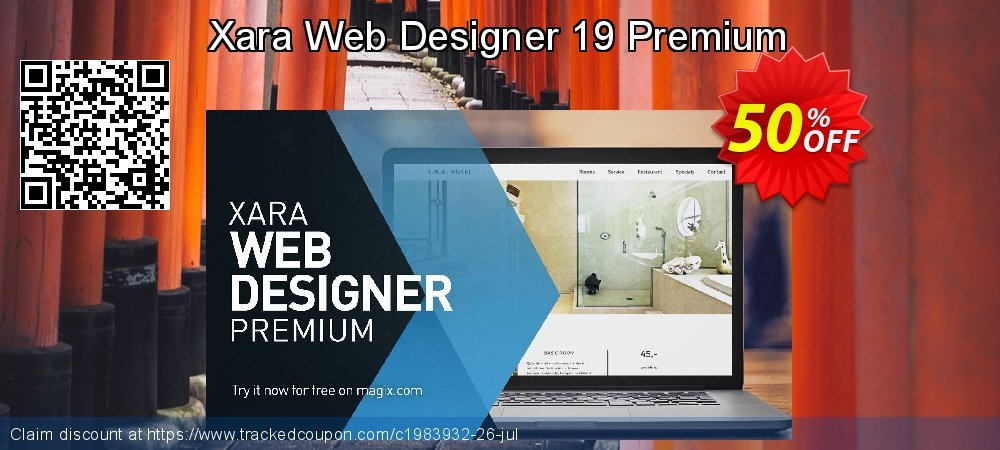 Xara Web Designer Premium coupon on Happy New Year super sale