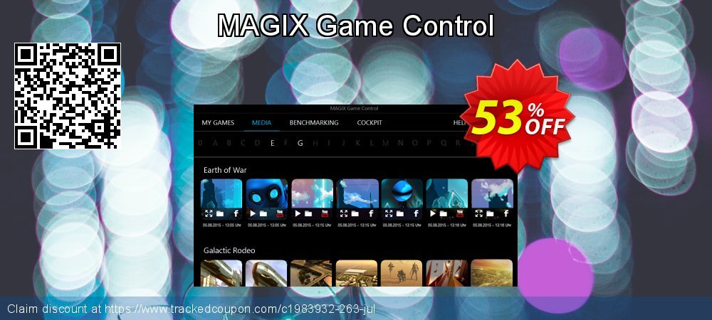 MAGIX Game Control coupon on Mothers Day offering discount