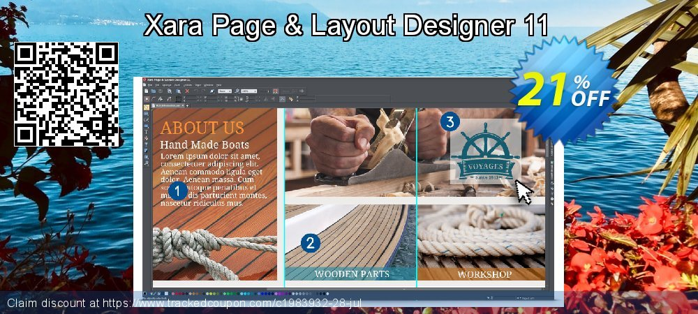 Xara Page & Layout Designer 11 coupon on Mom Day discount