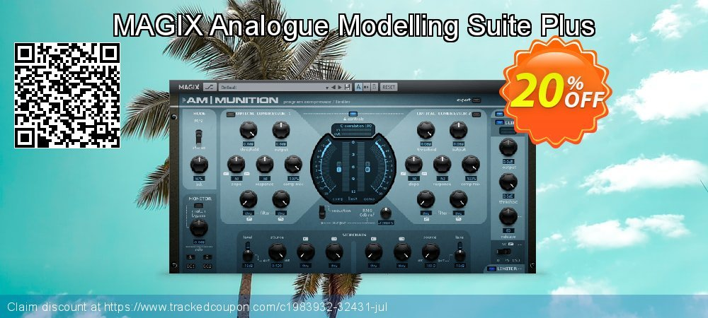 MAGIX Analogue Modelling Suite Plus coupon on Lunar New Year offer