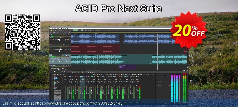ACID Pro Next Suite coupon on Mom Day sales