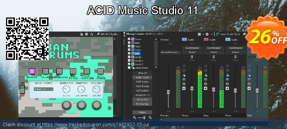 ACID Music Studio 11 coupon on Lunar New Year super sale