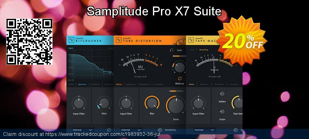 Samplitude Pro X5 Suite coupon on New Year discounts