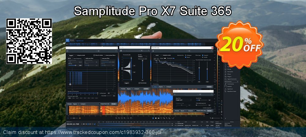 Samplitude Pro X5 Suite 365 coupon on New Year discounts
