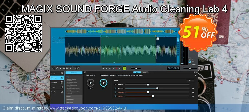 MAGIX SOUND FORGE Audio Cleaning Lab coupon on New Year offer