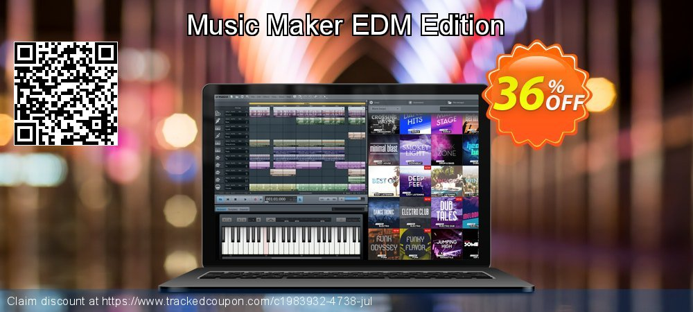 Music Maker EDM Edition coupon on National Family Day deals