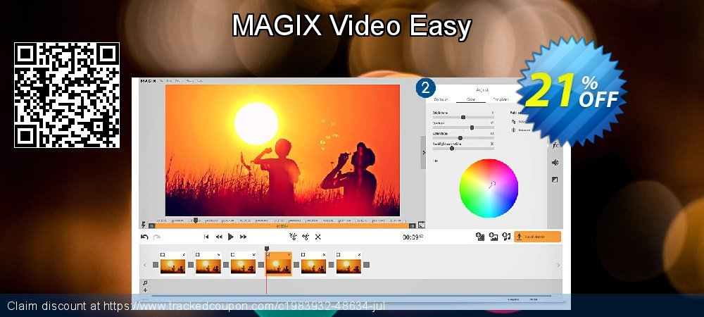 MAGIX Video easy coupon on Happy New Year offering sales