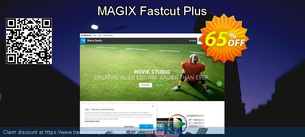 MAGIX Fastcut Plus coupon on Mothers Day offer