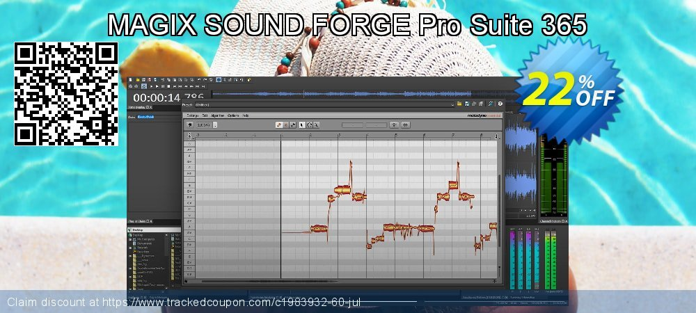 MAGIX SOUND FORGE Pro Suite 365 coupon on Mom Day promotions