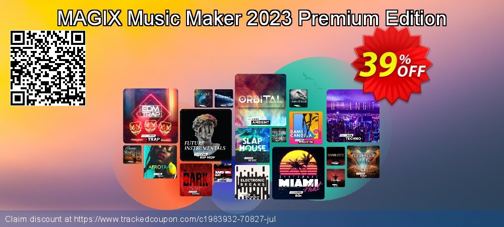MAGIX Music Maker 2020 Premium Edition coupon on Lunar New Year offering discount