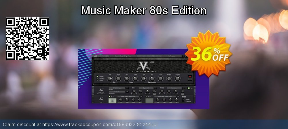 Music Maker 80s Edition coupon on Talk Like a Pirate Day sales