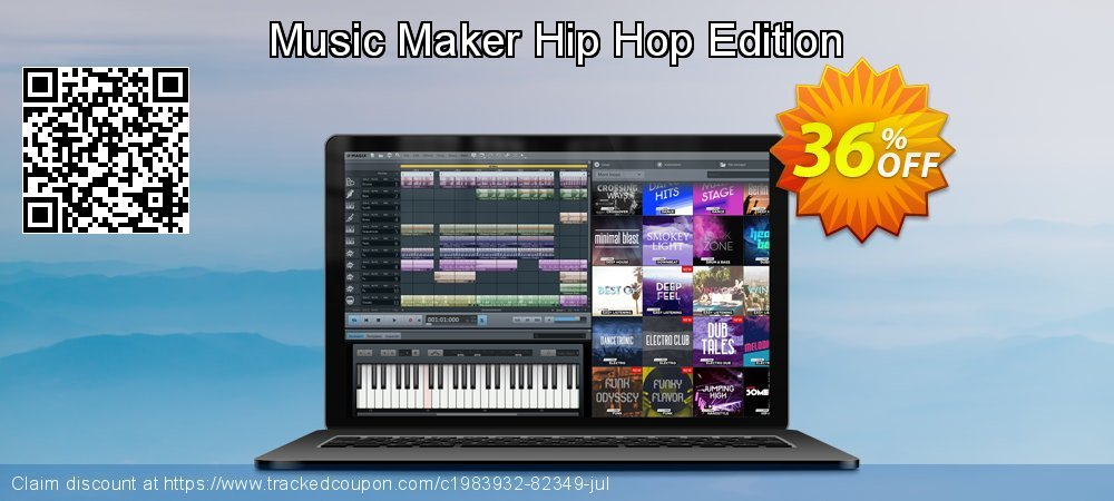 Music Maker Hip Hop Edition coupon on National Noodle Day super sale