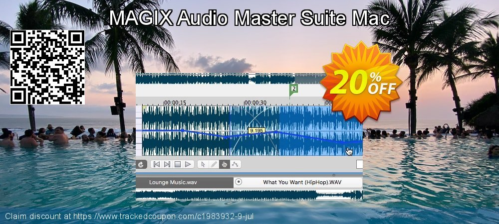 MAGIX Audio Master Suite Mac coupon on Mothers Day offer