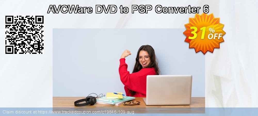 AVCWare DVD to PSP Converter 6 coupon on Halloween deals