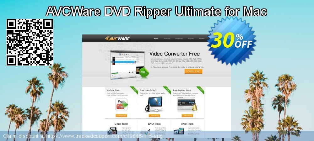 AVCWare DVD Ripper Ultimate for Mac coupon on Halloween discounts