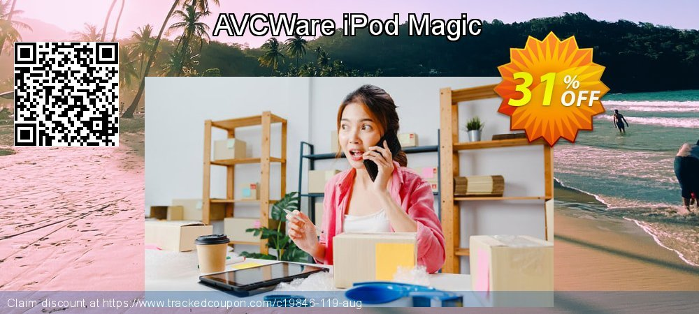 AVCWare iPod Magic coupon on Halloween offer