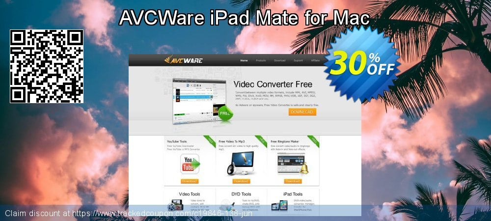 AVCWare iPad Mate for Mac coupon on Halloween discount