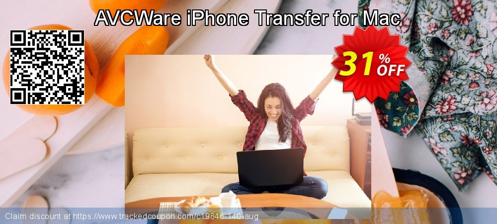 AVCWare iPhone Transfer for Mac coupon on Halloween offering sales
