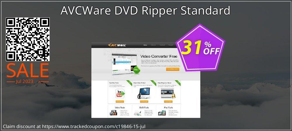 AVCWare DVD Ripper Standard coupon on Halloween super sale