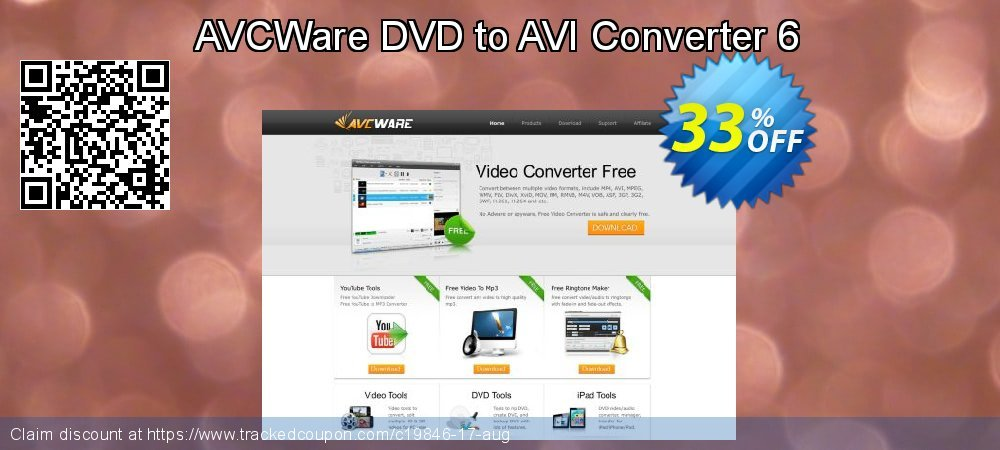 AVCWare DVD to AVI Converter 6 coupon on Halloween promotions