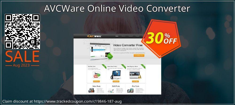 AVCWare Online Video Converter coupon on Halloween discounts