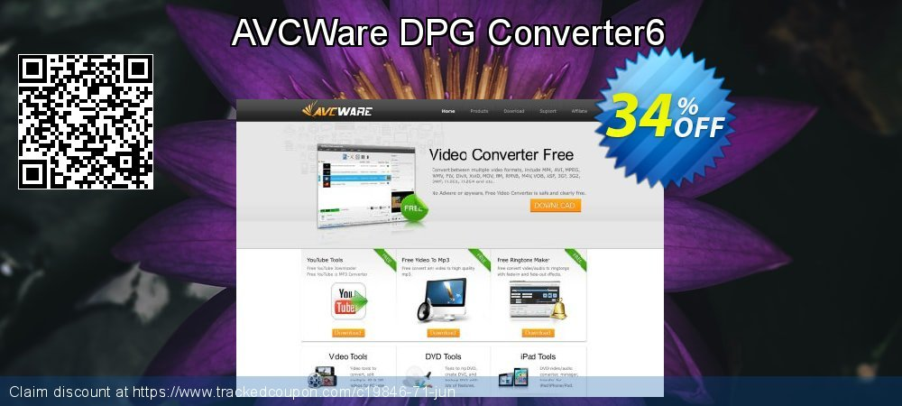Get 30% OFF AVCWare DPG Converter6 offering sales