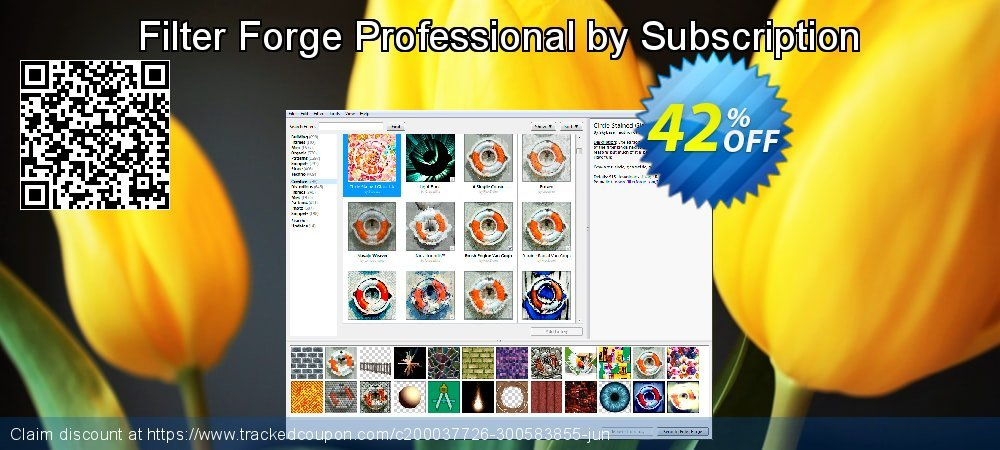 Filter Forge Professional by Subscription coupon on Lunar New Year sales