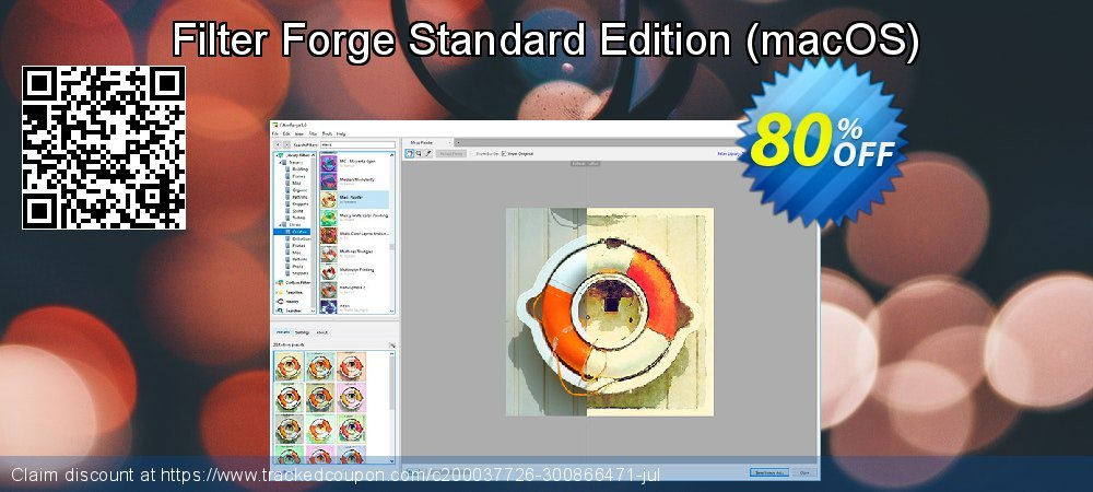 Filter Forge Standard Edition - macOS  coupon on Halloween discounts