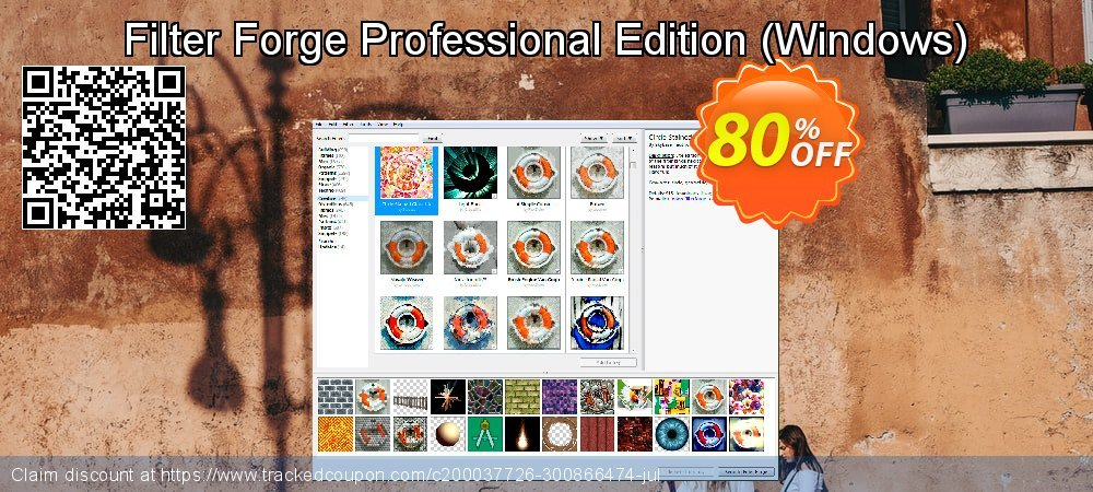 Filter Forge Professional Edition - Windows  coupon on University Student offer promotions