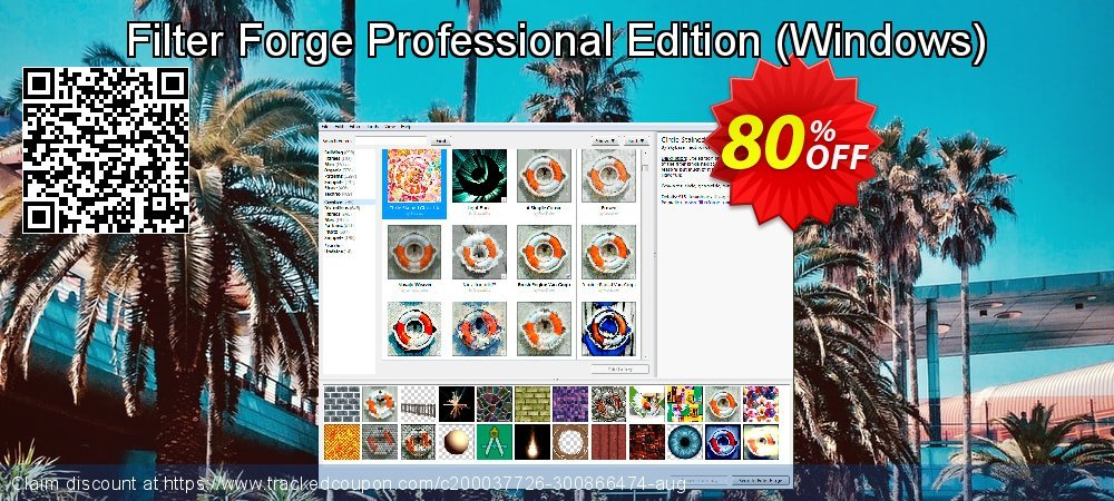 Get 80% OFF Filter Forge Professional Edition (Windows) promo sales