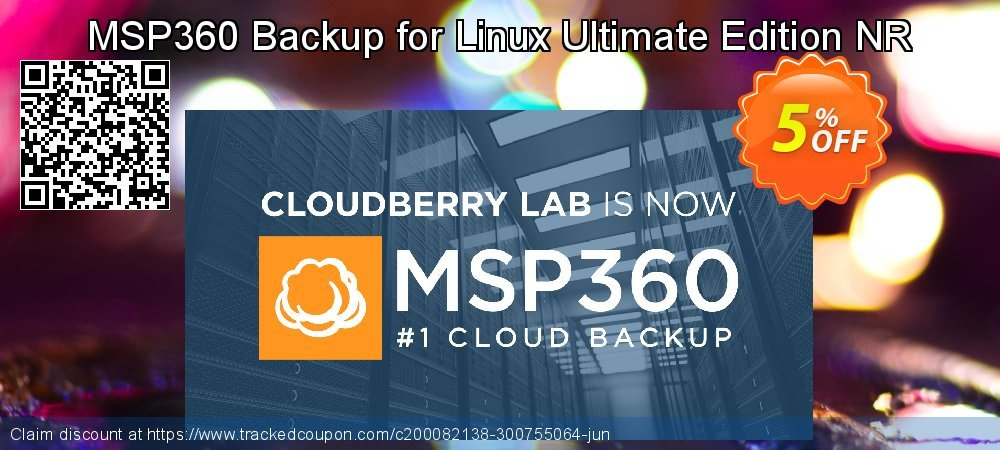 MSP360 Backup for Linux Ultimate Edition NR coupon on April Fool's Day deals