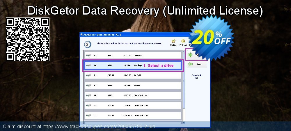 Claim 20% OFF DiskGetor Data Recovery - Unlimited License Coupon discount May, 2020