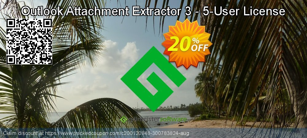 Claim 20% OFF Outlook Attachment Extractor 3 - 5-User License Coupon discount September, 2021