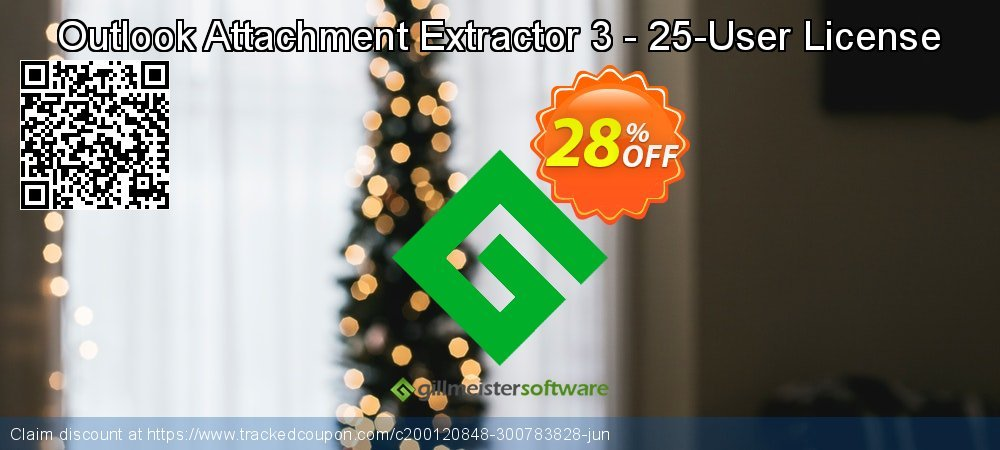 Claim 28% OFF Outlook Attachment Extractor 3 - 25-User License Coupon discount September, 2021