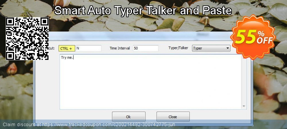 Smart Auto Typer Talker and Paste coupon on Back to School deals deals