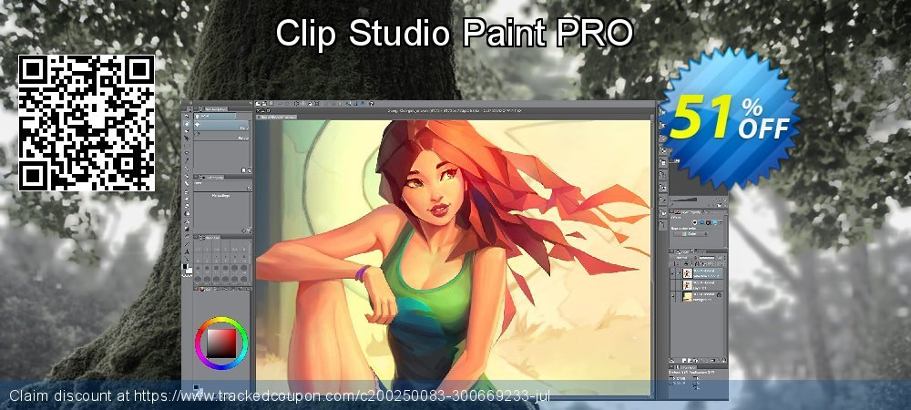 Clip Studio Paint PRO coupon on National Cleanup Day offering sales