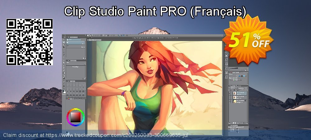 Clip Studio Paint PRO - Français  coupon on American Chess Day offer