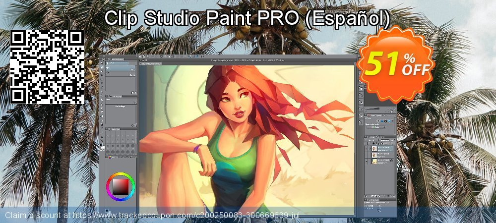 Clip Studio Paint PRO - Español  coupon on World Bollywood Day super sale