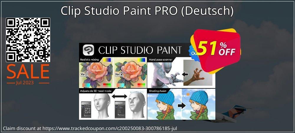 Clip Studio Paint PRO - Deutsch  coupon on Back to School offer