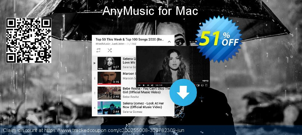 Claim 51% OFF AnyMusic Mac Annually Coupon discount February, 2020