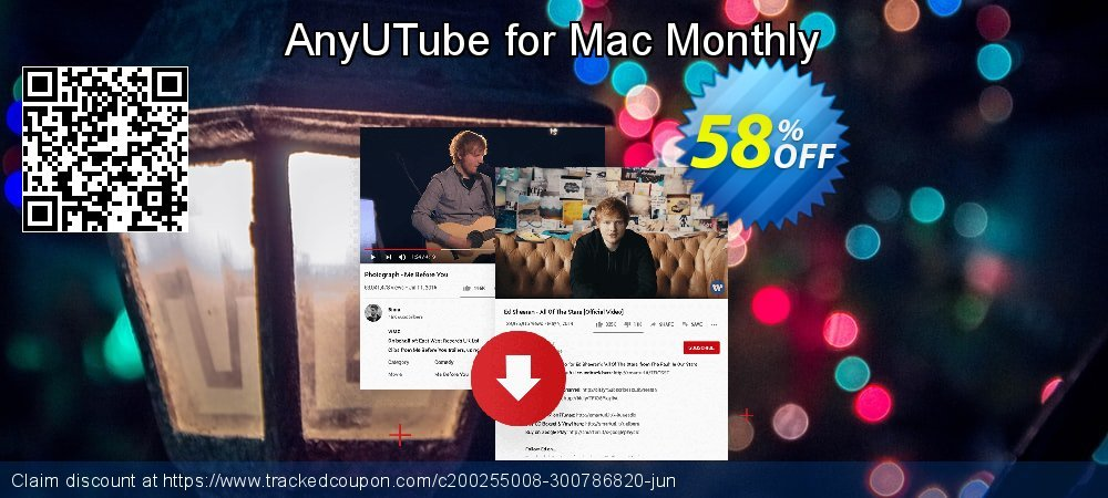Claim 58% OFF AnyUTube for Mac Monthly Coupon discount February, 2020