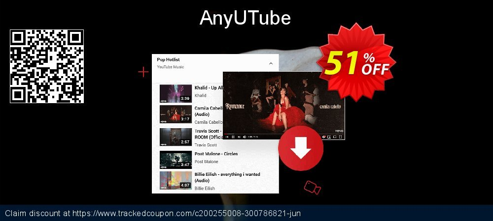 AnyUTube coupon on World Bollywood Day deals