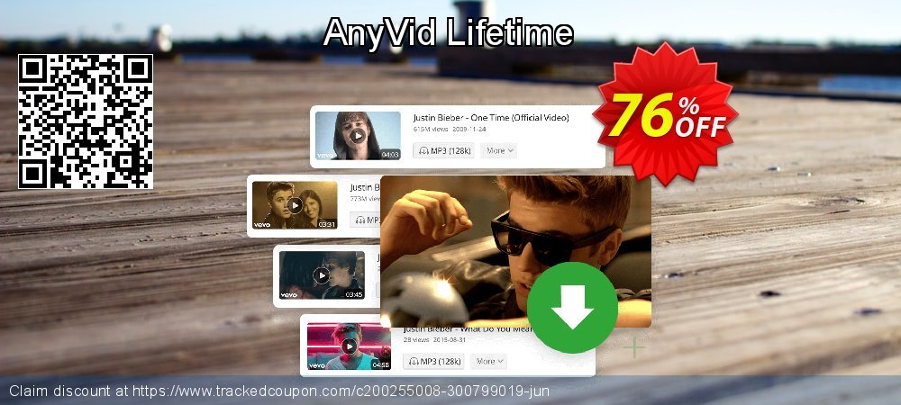 AnyVid Lifetime coupon on Autumn offering discount