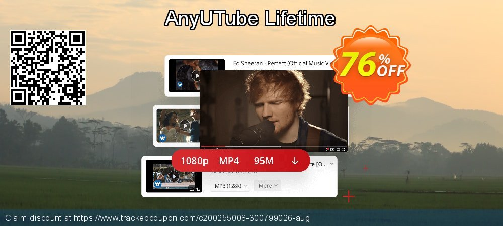 Claim 76% OFF AnyUTube Lifetime Coupon discount February, 2020