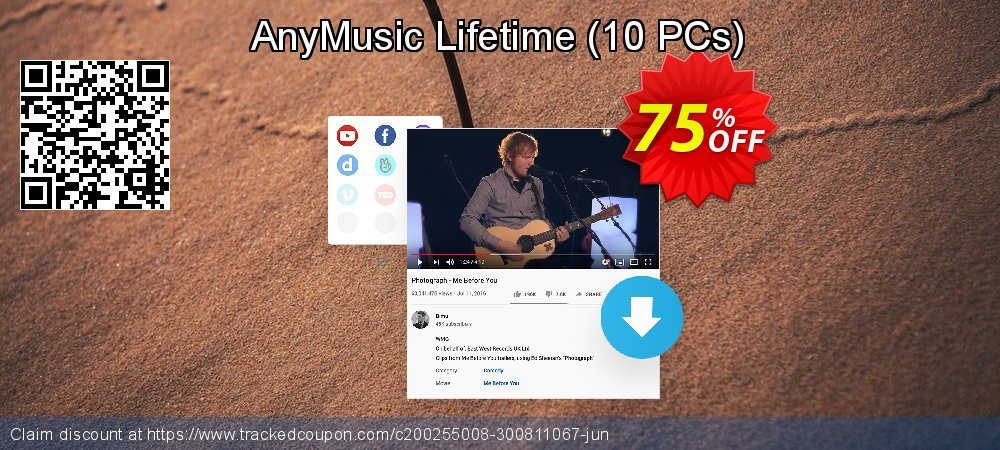 AnyMusic Lifetime - 10 PCs  coupon on IT Professionals Day deals